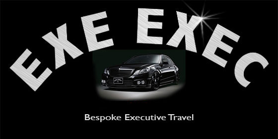 Exe Exec logo and phone number
